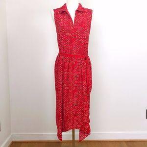 Maeve by Anthropologie Sleeveless pattern dress